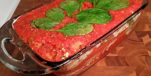 Homemade Lasagna - © ProtectiveDiet.com