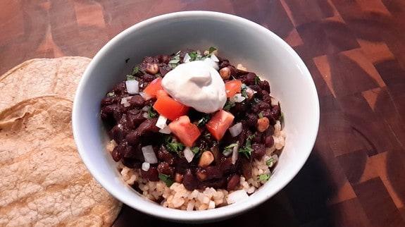 Black Bean Chili - © ProtectiveDiet.com