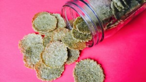 Seasoned Crispy Crackers - © ProtectiveDiet.com