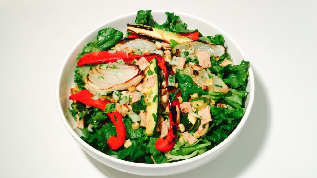 Balsamic Roasted Veggie Salad - © ProtectiveDiet.com