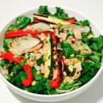 Balsamic Roasted Veggie Salad