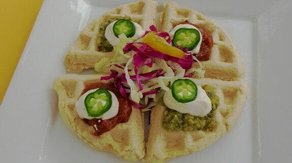 Nacho Waffle - © ProtectiveDiet.com