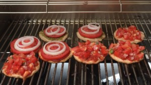 Grilled Mini Party Pizzas - © ProtectiveDiet.com