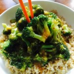 Oil-free Broccoli & Garlic Sauce - © ProtectiveDiet.com
