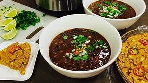 Cuban Black Bean Soup - © ProtectiveDiet.com