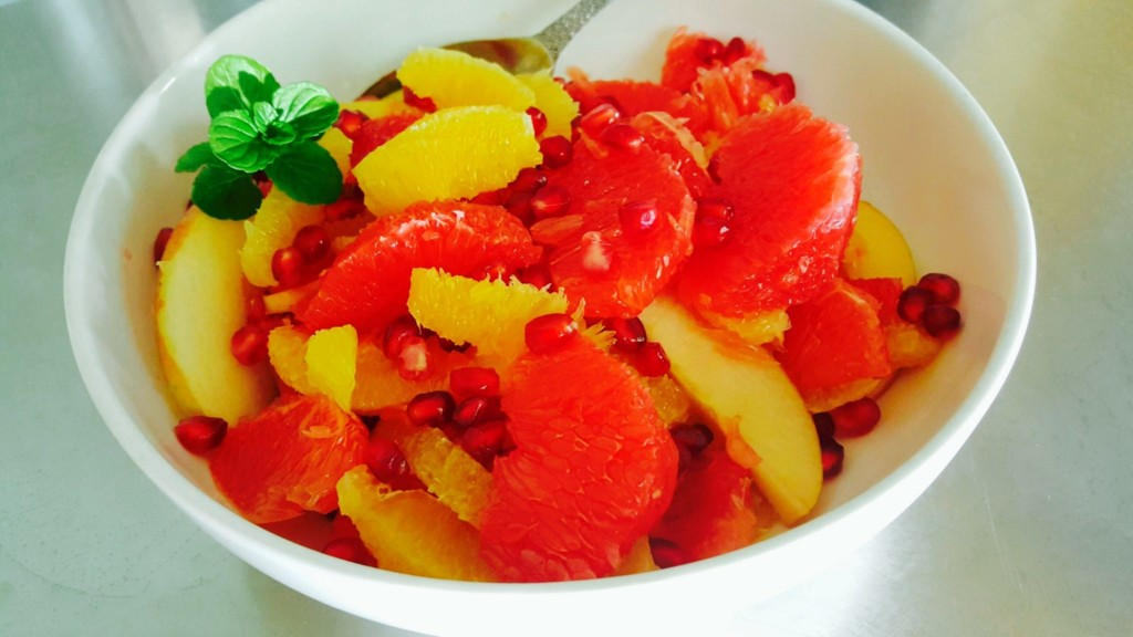 Winter Fruit Salad Free Pd Recipe Protective Diet