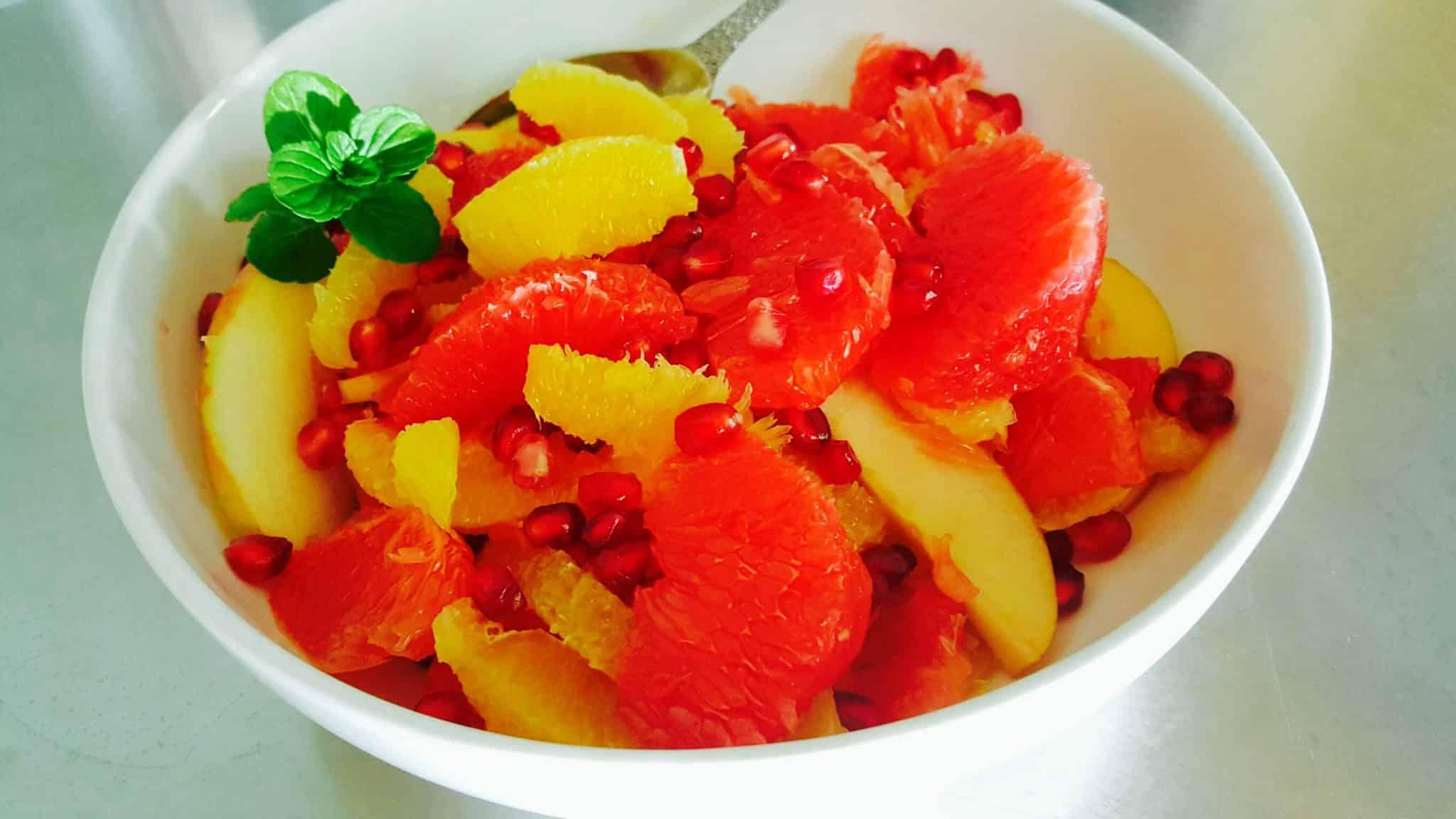 Winter Fruit Salad Free PD Recipe