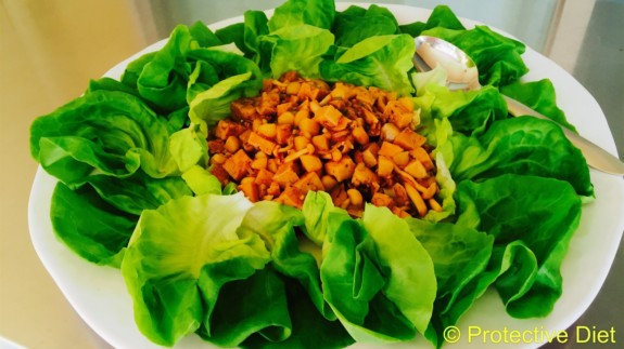 Tofu Lettuce Wraps7