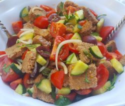 Panzanella Salad Featured Image - © ProtectiveDiet.com