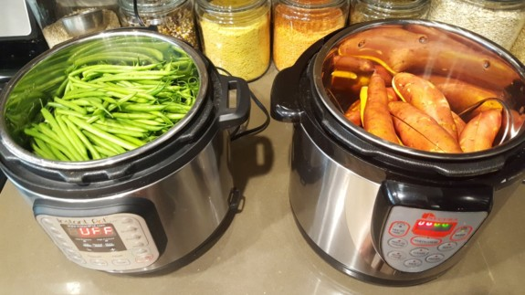 how to cook vegetables in pressure cooker
