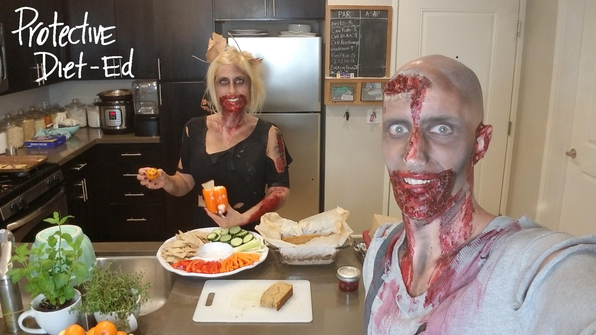 Class #191 - Healthy Halloween Treats & Co-Cooking