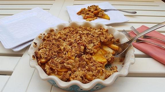 Apple Crumble Premium PD Recipe - Protective Diet
