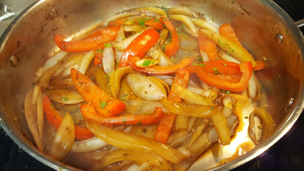Caramelized Onions with Sweet Peppers Premium PD Recipe