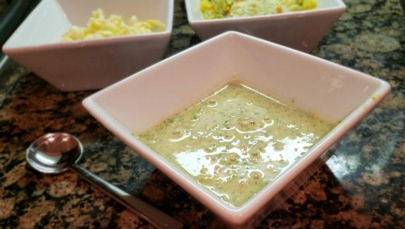 Quickie Cream of Veggie Soup