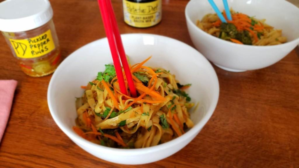 Zesty Noodle Bowl Premium PD Recipe