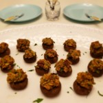 Plant-Based Prosciutto Stuffed Mushrooms Premium PD Recipe