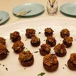 Plant Based Prosciutto Stuffed Mushrooms Premium PD Recipe