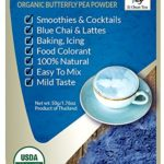 Organic Butterfly Pea Flower Powder Tea from Thailand - Blue Matcha - Butterfly Pea Flower Extract