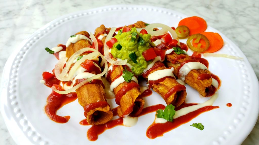 Plant-Based Taquitos Premium PD Recipe