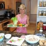 Class #267 – Finger Salad, Chips & Dip for Dinner featuring Refrigerator Tacos