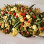 Green Bean Scramble - Plant-Based Ejotes con Huevo Premium PD Recipe
