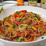 Fat-Free Nutty Noodle Salad Premium PD Recipe
