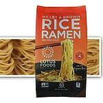 Lotus Food Brown Rice and Millet Ramen Noodles