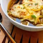 French Onion Soup with Cheeze Croutes Premium PD Recipe
